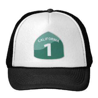 California State Route 1 Pacific Coast Highway Trucker Hat