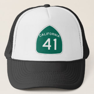 California State Route 41 Trucker Hat