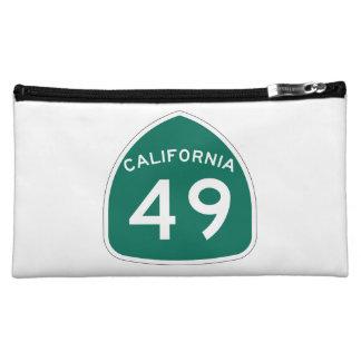 California State Route 49 Makeup Bag