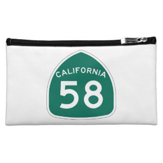 California State Route 58 Cosmetic Bag