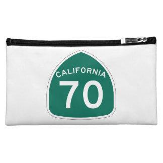 California State Route 70 Makeup Bag