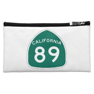 California State Route 89 Makeup Bag