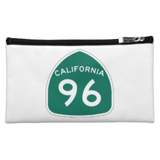 California State Route 96 Cosmetic Bag