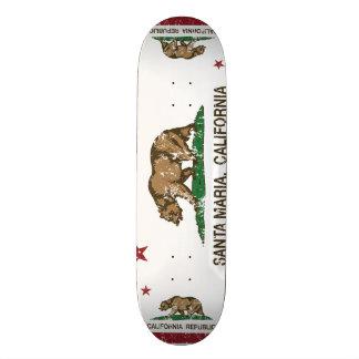 California State Santa Maria Skateboard Deck