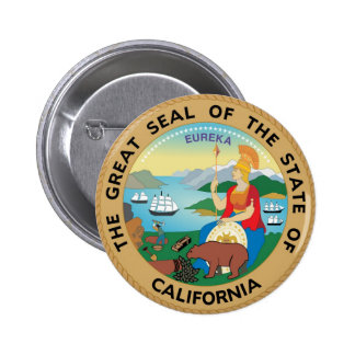 California State Seal and Motto Pins