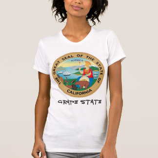 California State Seal and Motto Shirts