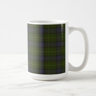 California state tartan coffee mug