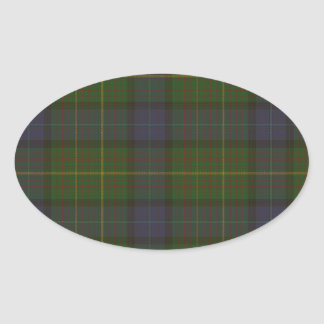 California State tartan Oval Sticker