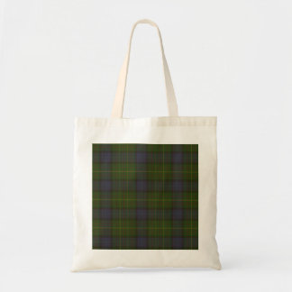 California state tartan tote bag