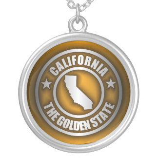 """""""California Steel"""" Necklace (Gold)"""