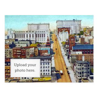 California Street Hill Postcard