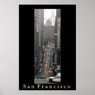 California Street, San Francisco Poster