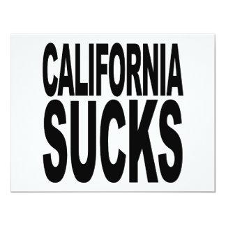 California Sucks Card