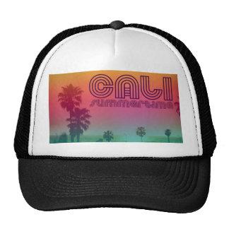 California summertime trucker hat