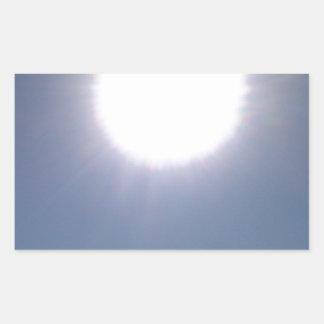 California Sun Rectangular Sticker