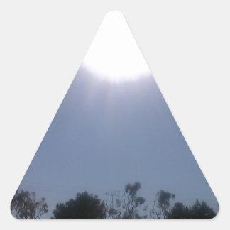 California Sun Triangle Sticker