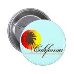 California Sunset 2 Inch Round Button