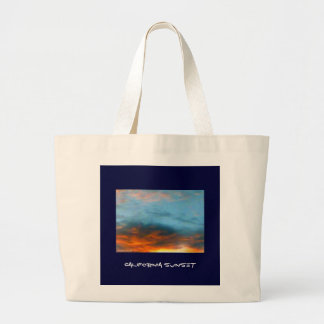 California Sunset! Canvas Bag