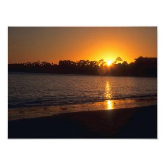 California Sunset Photograph
