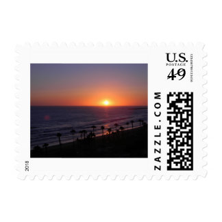 California Sunset Postage