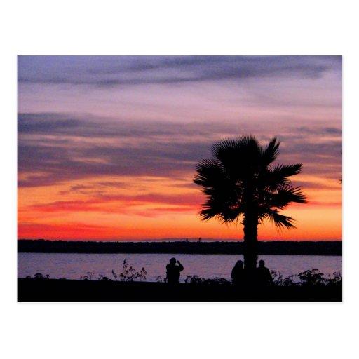 California Sunset Postcards
