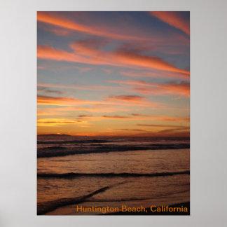 California Sunset Print