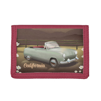 California Sunset Trifold Wallet