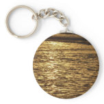 California Sunset Waves Abstract Nature Photograph Keychain