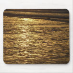 California Sunset Waves Abstract Nature Photograph Mouse Pad