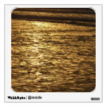California Sunset Waves Abstract Nature Photograph Wall Decals