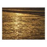 California Sunset Waves Photo Print
