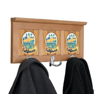 California surfboard coat racks