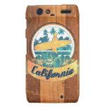 California surfboard motorola droid RAZR case