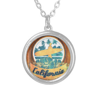California surfboard custom necklace