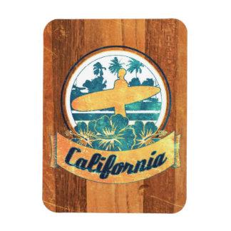 California surfboard magnet
