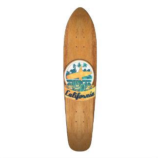 California surfboard skate board deck