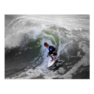 California Surfer Boy Postcard