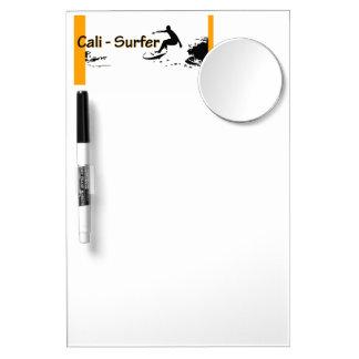 California Surfer Dry Erase Board