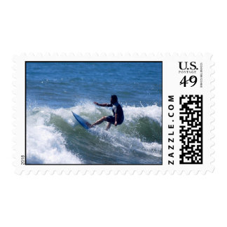 California Surfer Postage