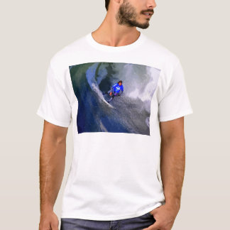 California Surfer Riding Wave T-Shirt