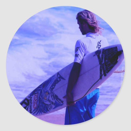 California Surfer Sticker