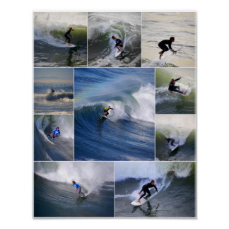 California Surfers Poster