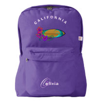California Surfing American Apparel™ Backpack