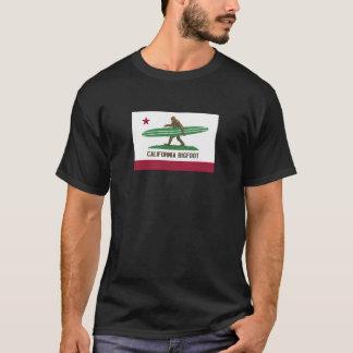California Surfing Bigfoot Longboard T-Shirt