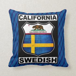 California Swedish American Cushion