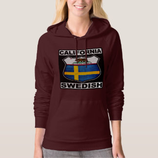 California Swedish American Hoodie