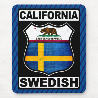 California Swedish American Mousemat Mouse Pad