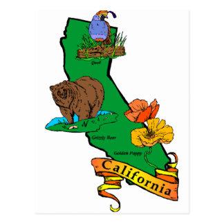 California Tarjeta Postal