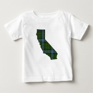 California Tartan Plaid Baby T-Shirt