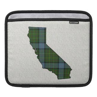 California Tartan Plaid iPad Sleeves